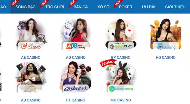 Hướng dẫn đặt cược Casino tại nhà cái CMD368