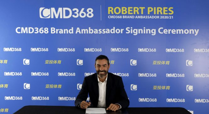 Robert Pires là ai? Tại sao lại được lựa chọn là đại sứ thương hiệu CMD368?